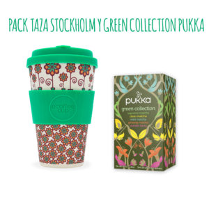Pack Taza Stockholm y Green Collection Pukka